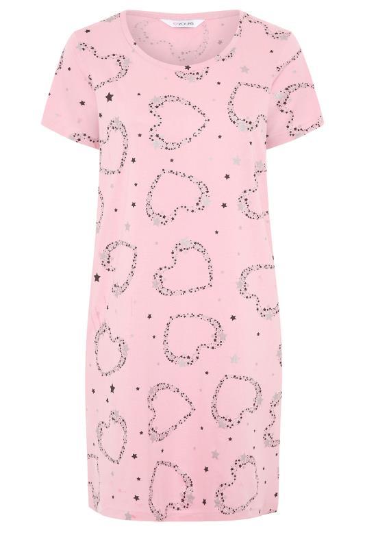 Blush Pink Star and Heart Nightdress_F.jpg