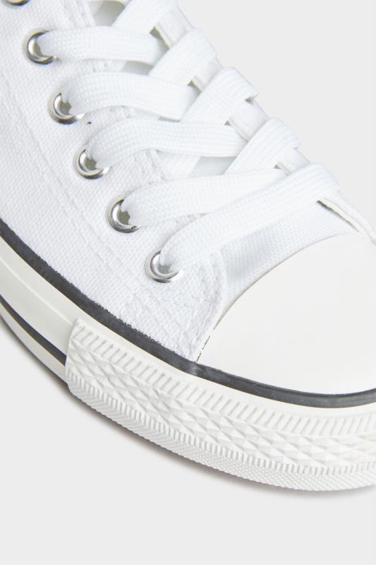White Canvas Low Trainers In Wide Fit_D.jpg
