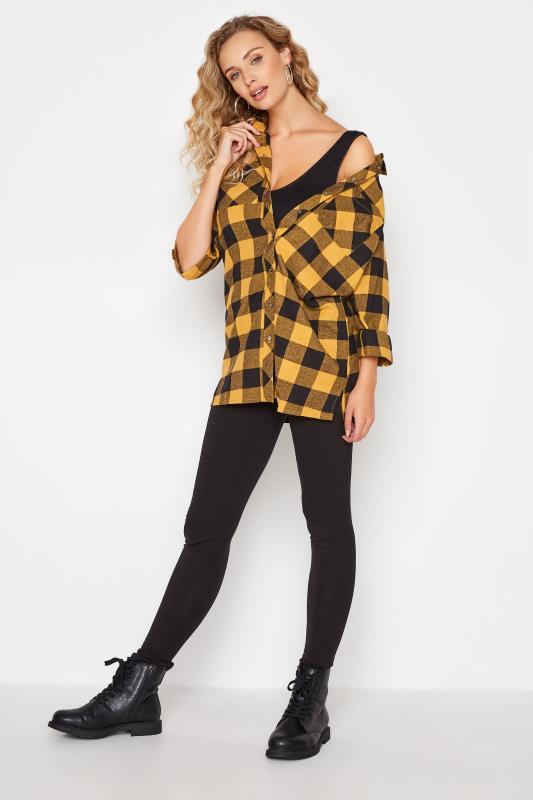 LTS Yellow Check Boyfriend Shirt_B.jpg