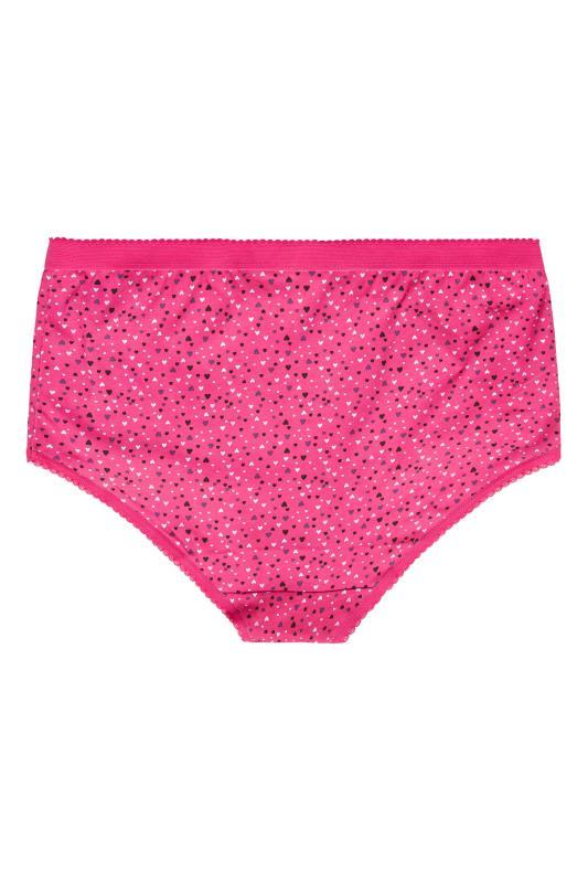 5 PACK Pink Multi Heart Print Full Briefs_BK.jpg