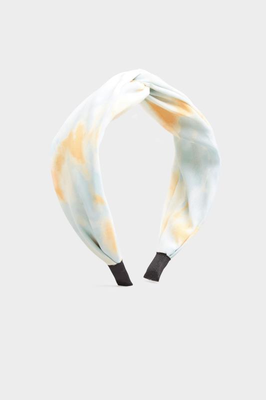 Pale Blue Tie Dye Twist Headband_A.jpg