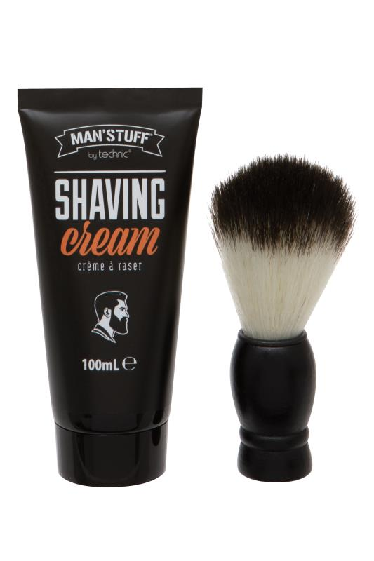 dla puszystych MANS'STUFF 'Close Shave' Toiletry Gift Set