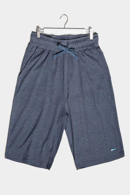 Großen Größen Casual / Every Day BadRhino Denim Blue Essential Jogger Shorts