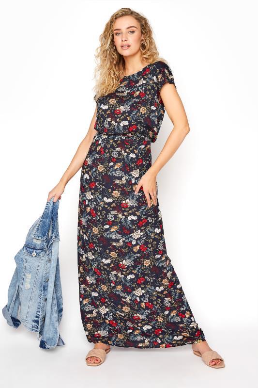 LTS Navy Floral Tie Back Maxi Dress_B.jpg