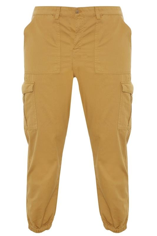 Cargo Trousers Tallas Grandes ANOTHER INFLUENCE Sand Cuffed Cargo Trousers