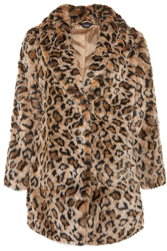 natural animal faux fur coat yours clothing. Black Bedroom Furniture Sets. Home Design Ideas