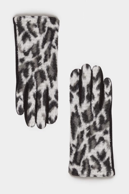 Animal-Handschuhe - Schwarz/Grau