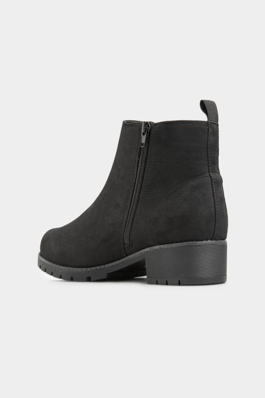 Black Vegan Faux Suede Chunky Boots In Extra Wide Fit_b77c.jpg