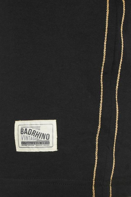 "BadRhino T-Shirt mit ""American Muscle""-Motiv - Schwarz"