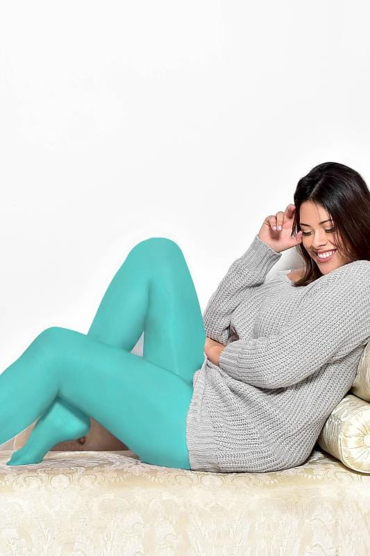 Aqua Blue 50 Denier Tights