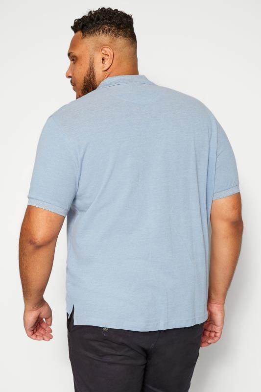 BAR HARBOUR Blue Polo Shirt
