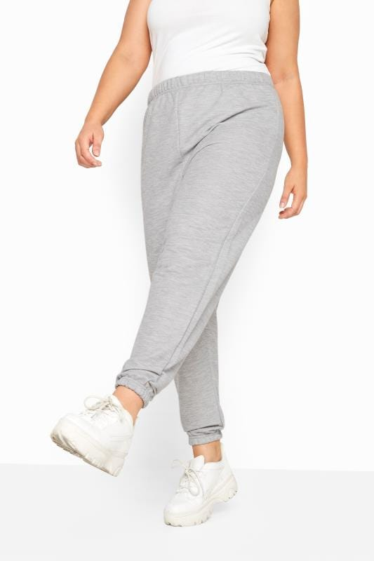 LIMITED COLLECTION Grey Marl Basic Joggers