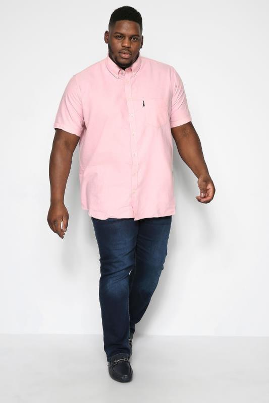 BEN SHERMAN Light Pink Signature Oxford Shirt