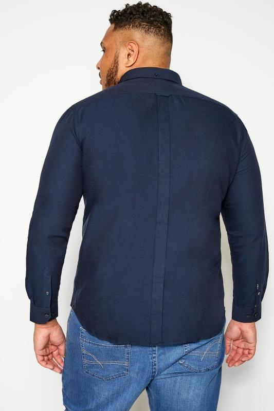 BEN SHERMAN Navy Signature Oxford Shirt