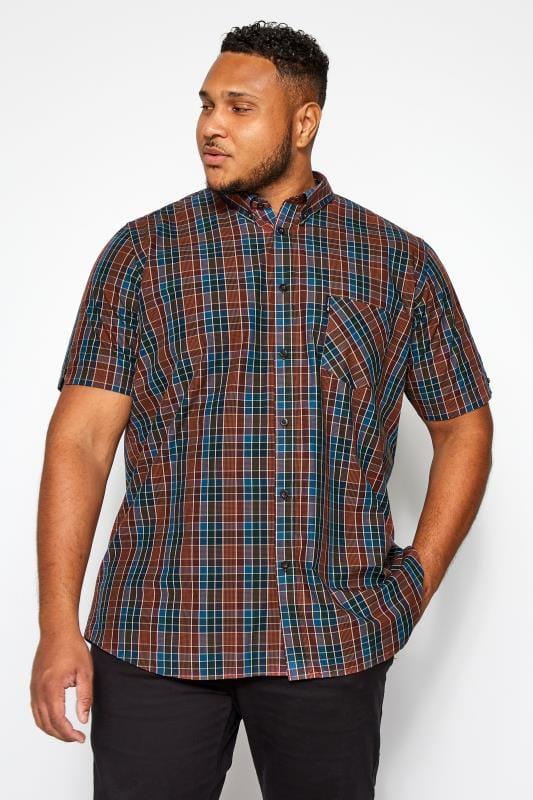 BEN SHERMAN Red Gingham Check Shirt