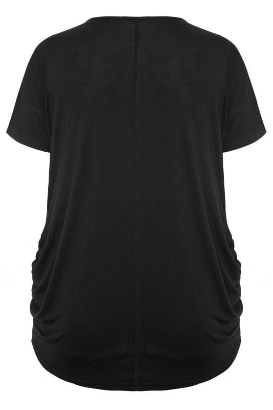 BUMP IT UP MATERNITY Black 'Mama' Heart T-Shirt