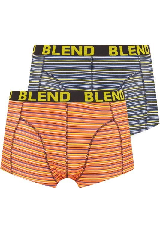 Men's Boxers & Briefs BLEND 2 Pack Multi Stripe Boxers