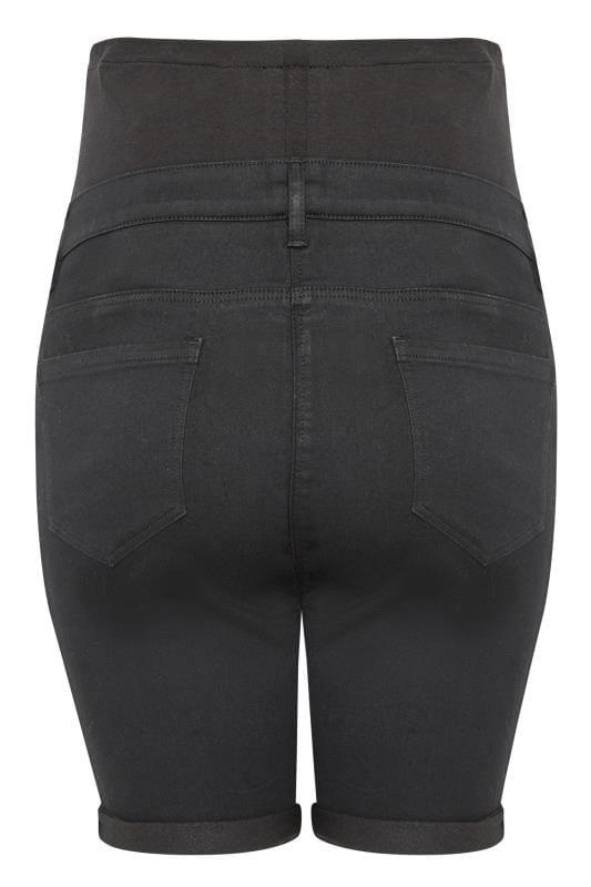 BUMP IT UP Black Jegging Shorts