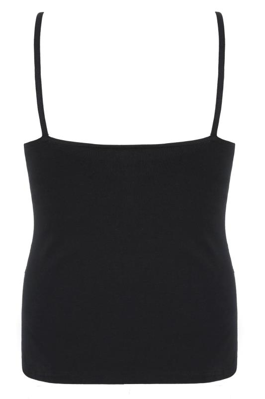 BUMP IT UP MATERNITY Black Camisole With Secret Support