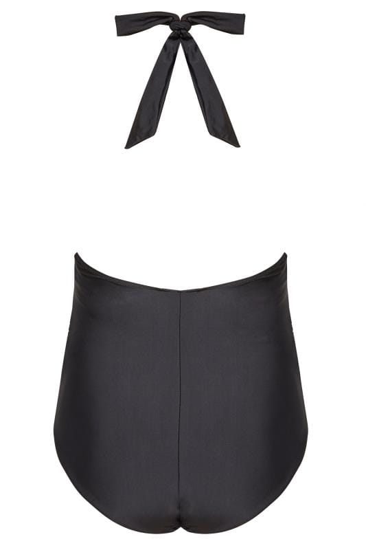 BUMP IT UP MATERNITY Black Halterneck Swimsuit