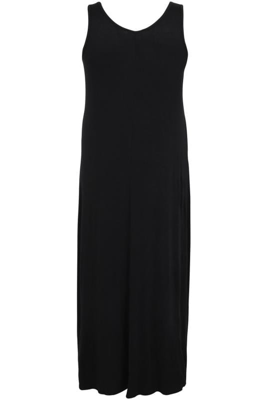 BUMP IT UP MATERNITY Black Maxi Dress