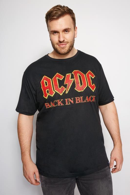 T-Shirts BadRhino Black ACDC T-Shirt 200999