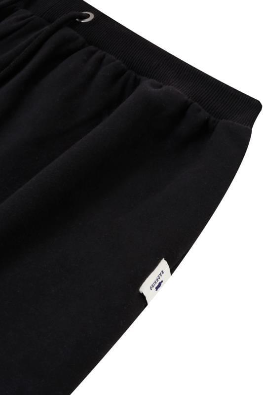 BadRhino Jogginghose mit Taschen - Schwarz