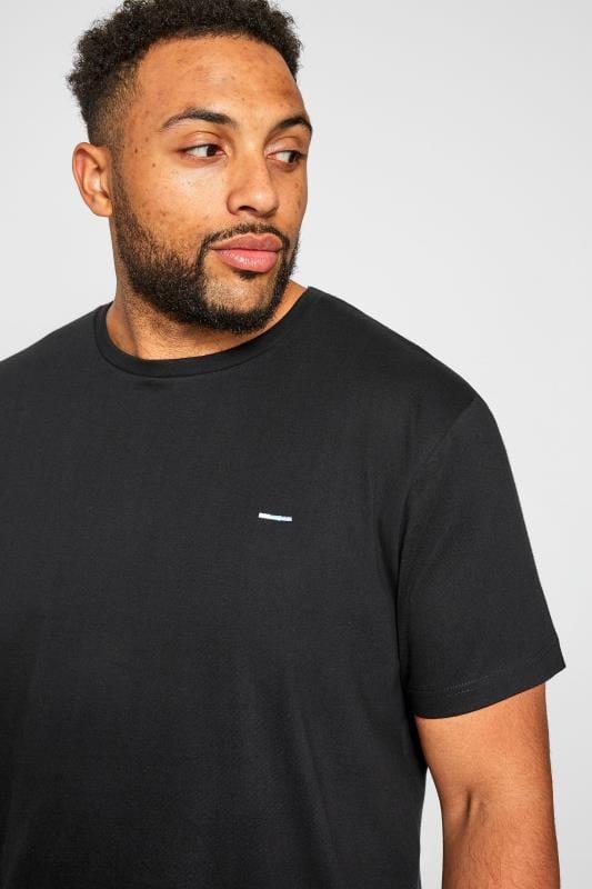 BadRhino Black Crew Neck T-Shirt