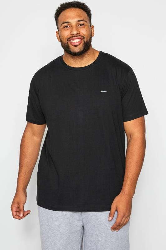 BadRhino Black Crew Neck T-Shirt