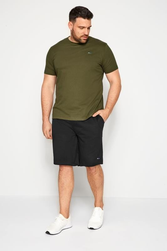 BadRhino Black Jogger Shorts