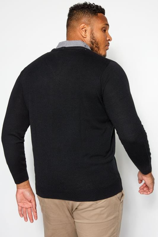 BadRhino Black Mock Shirt Jumper