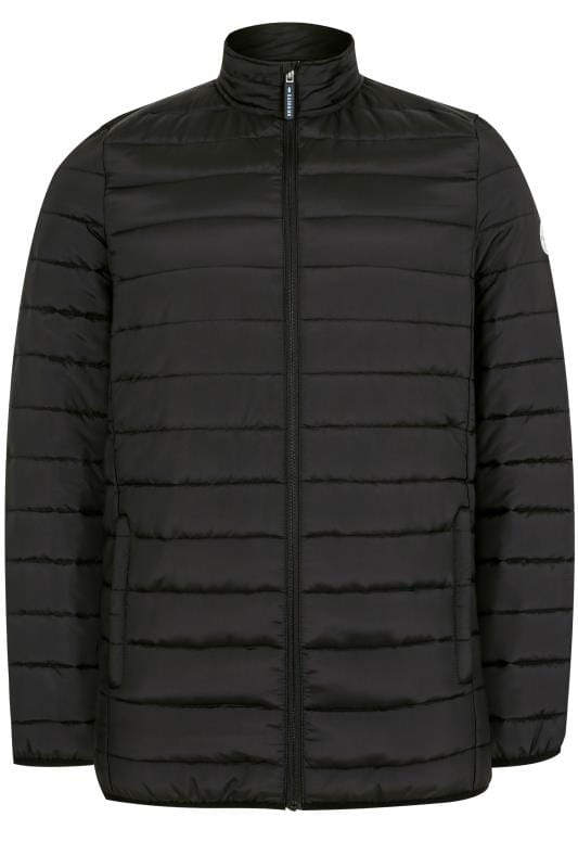 BadRhino Black Padded Zip Through Jacket