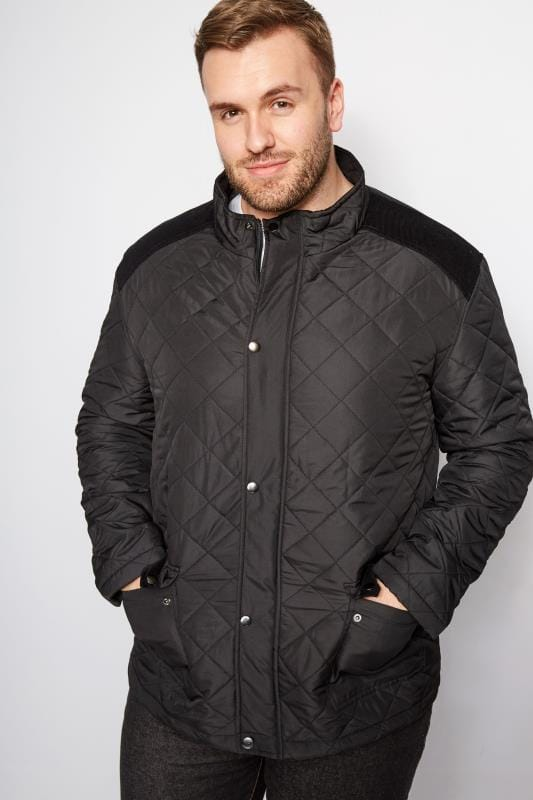 BadRhino Black Quilted Jacket