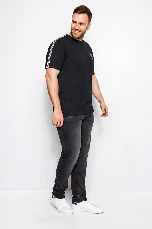 T-Shirts BadRhino Black Sports Tape T-Shirt 200983