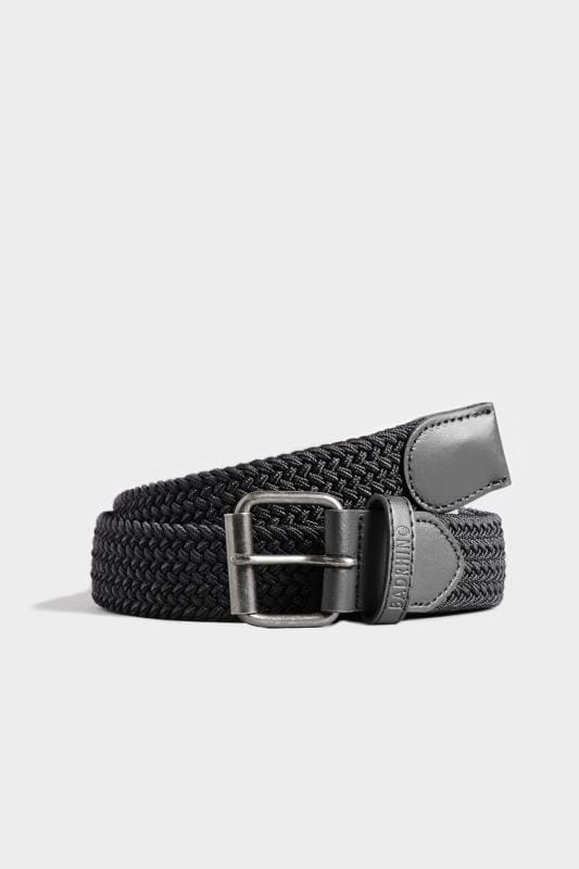 Belts BadRhino Black Stretch Woven Belt 200934