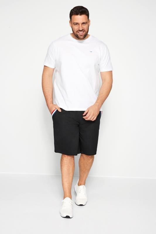 BadRhino Black Tape Jogger Shorts