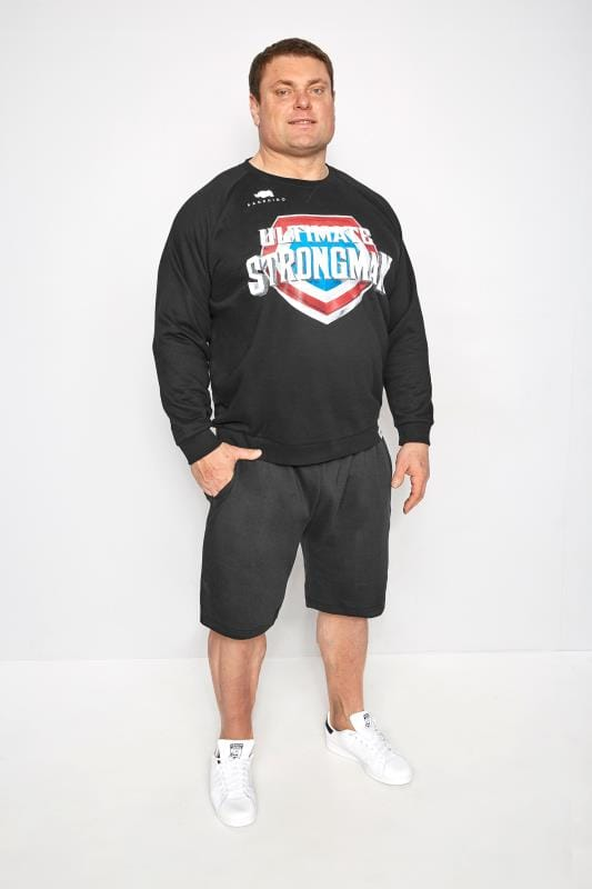 BadRhino Black' Ultimate Strongman' Sweatshirt