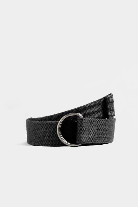 BadRhino Black Woven Web Belt
