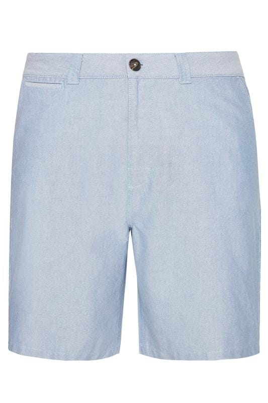 Men's Chino Shorts BadRhino Blue Chambray Shorts