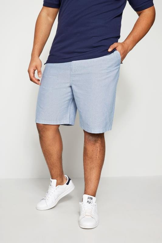 Chino Shorts BadRhino Blue Chambray Shorts 200945