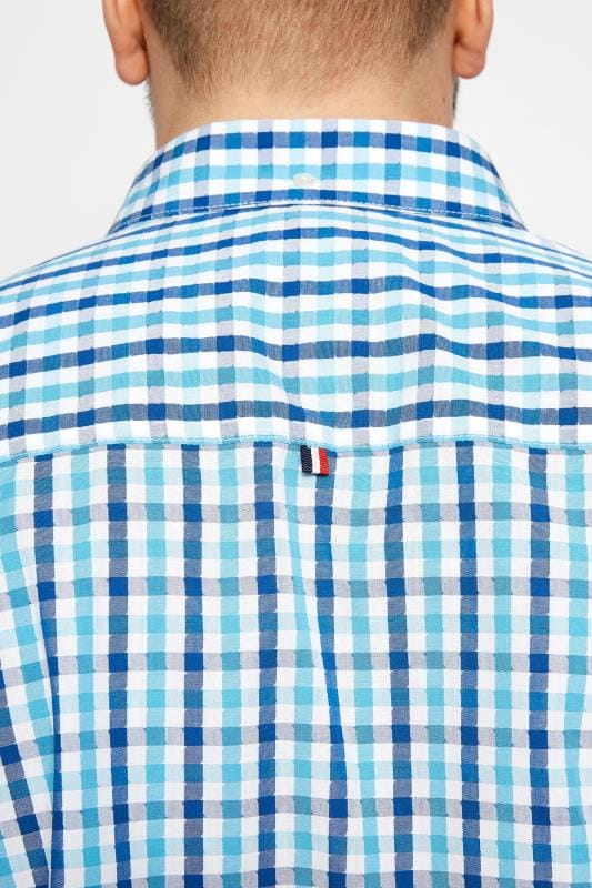 BadRhino Blue Check Short Sleeve Shirt
