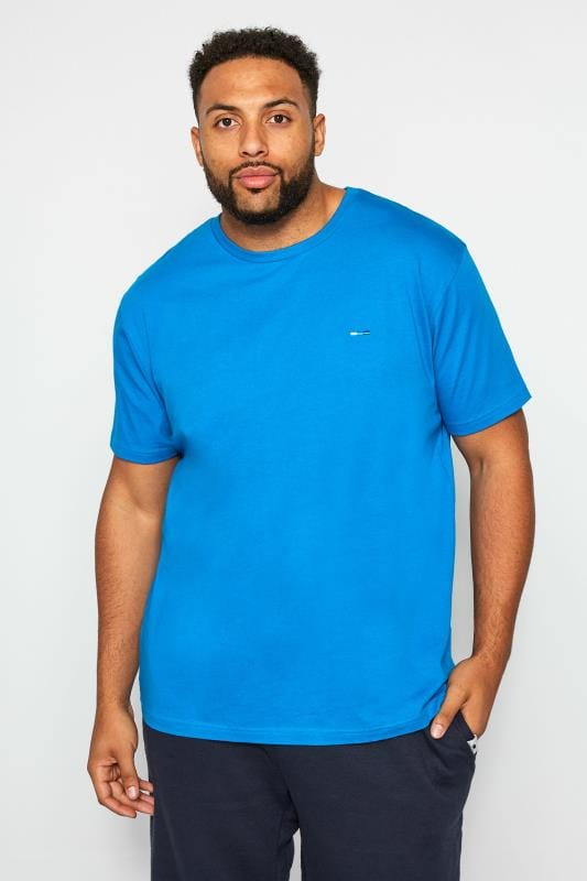 T-Shirts BadRhino Blue Crew Neck T-Shirt 201171