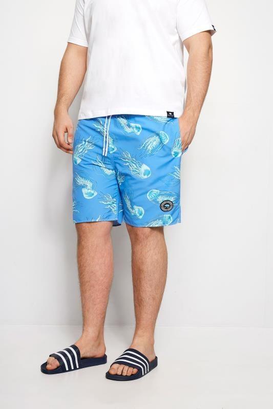Swim Shorts BadRhino Blue Jellyfish Swim Shorts 200926