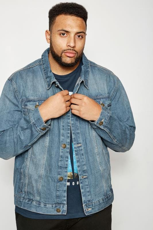 BadRhino Blue Stonewash Denim Jacket