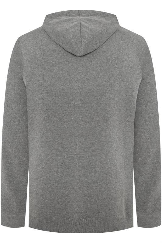 BadRhino Charcoal Grey Basic Hoodie