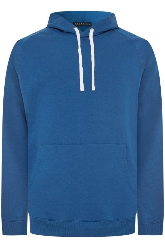 Plus Size Hoodies BadRhino Cobalt Blue Basic Hoodie