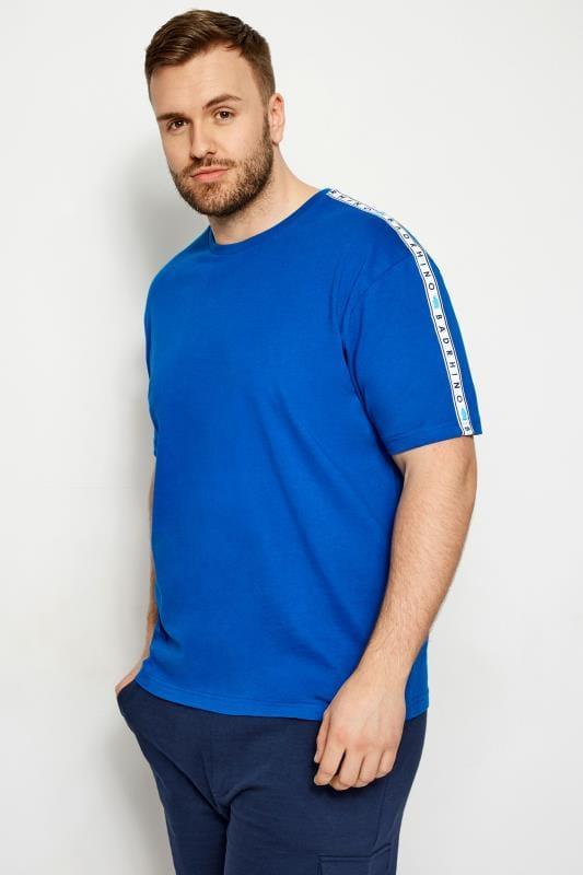 BadRhino Cobalt Blue Taped T-Shirt