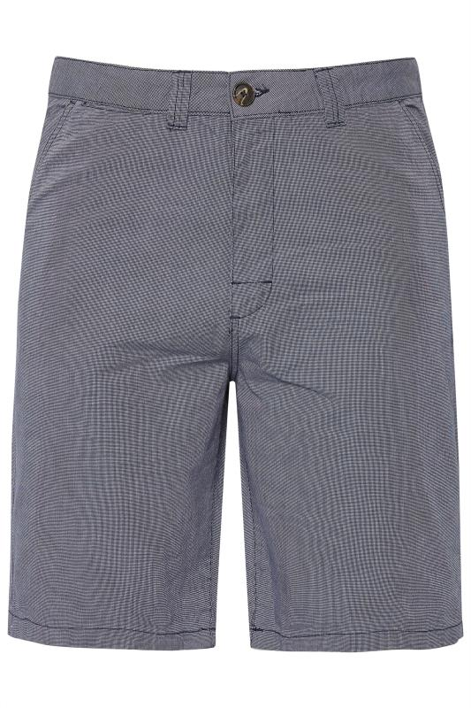 Men's Chino Shorts BadRhino Dark Blue Woven Shorts