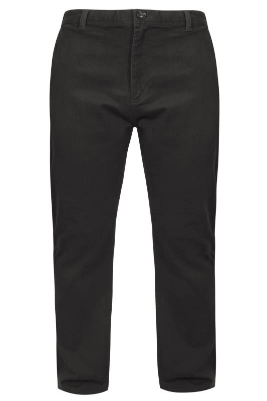 Men's Chinos & Cords BadRhino Dark Grey Stretch Chinos