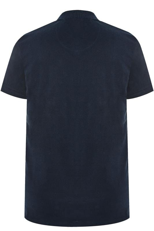 BadRhino Dark Navy Premium Stretch Polo Shirt